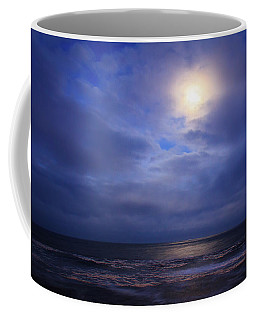 Moonlight On The Ocean At Hatteras Coffee Mug