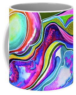 Moonlight On The Seaside Cliffs Coffee Mug