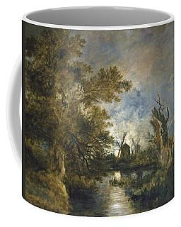 Moonlight On The Yare Coffee Mug