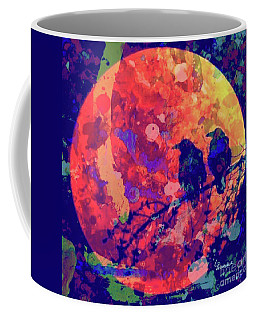 Moonlight Ravens Coffee Mug