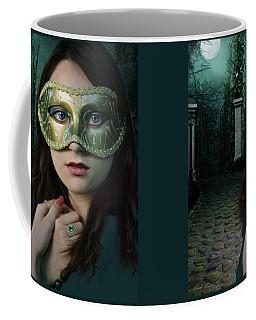 Moonlight Rendezvous Coffee Mug by Linda Lees