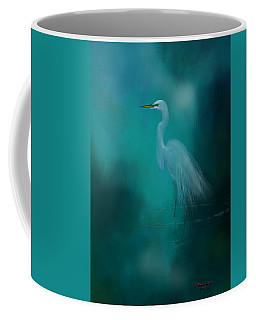 Coffee Mug featuring the photograph Moonlight Serenade by Marvin Spates