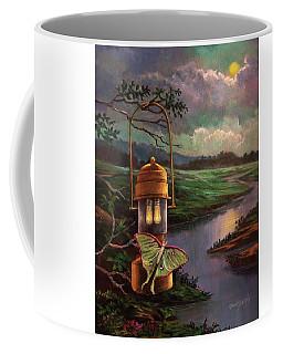 Moonlight, Silhouettes And Shadows Coffee Mug