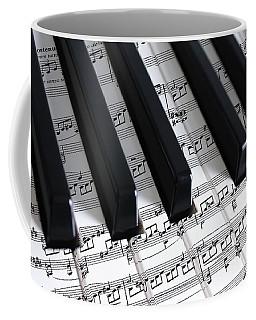 Moonlight Sonata Coffee Mug by Iryna Goodall