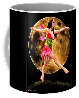 Moonlight Stroll Of A Fairy Coffee Mug