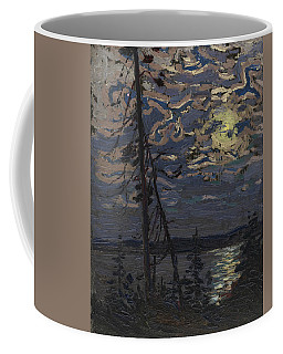 Coffee Mug featuring the painting Moonlight by Tom Thomson