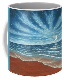 Moonlit Beach Coffee Mug