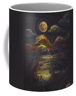 Moonlit Beach Guam Coffee Mug