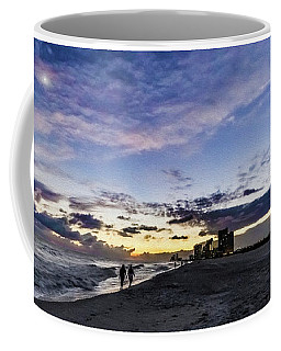 Moonlit Beach Sunset Seascape 0272b1 Coffee Mug
