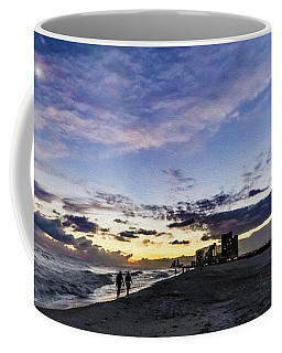 Moonlit Beach Sunset Seascape 0272c Coffee Mug
