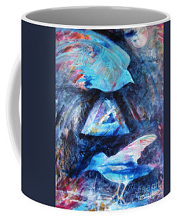 Moonlit Birds Coffee Mug by Denise Hoag