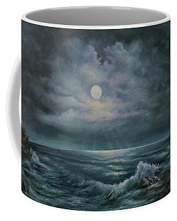 Moonlit Seascape Coffee Mug
