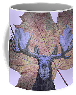 Moonlit Moose Coffee Mug