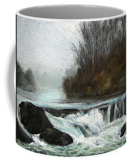 Moonlit Serenity Coffee Mug by Marna Edwards Flavell