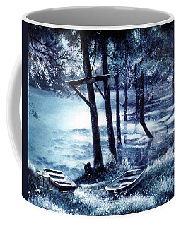 Moonlite On Village Creek Coffee Mug