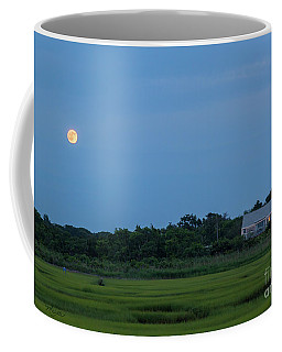 Moonrise At Grays Beach Coffee Mug