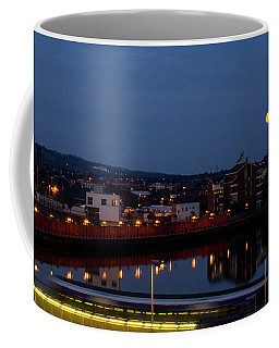 Moonrise In Belfast Coffee Mug
