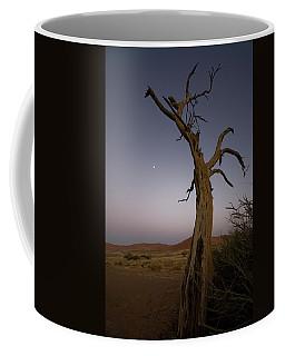 Moonrise In Namibia Coffee Mug