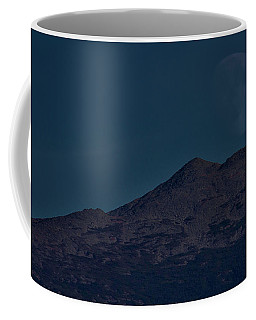 Moonrise Mount Adams Coffee Mug