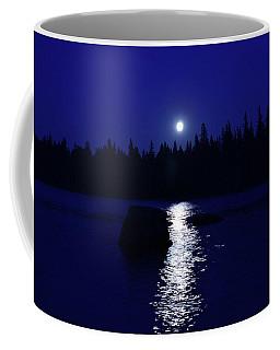 Moonrise On A Midsummer's Night Coffee Mug by David Porteus