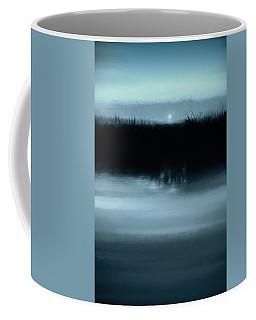 Moonrise On The Water Coffee Mug