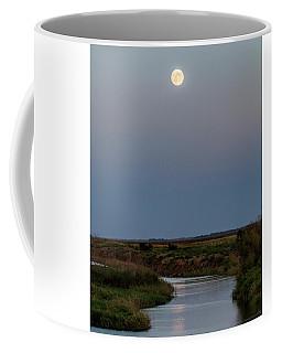 Moonrise Over Cheyenne Bottoms -01 Coffee Mug