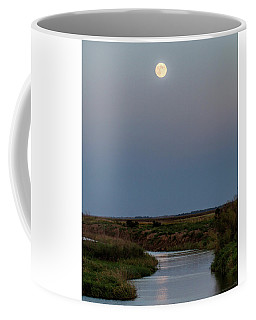 Moonrise Over Cheyenne Bottoms -01 Coffee Mug