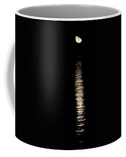Moonrise Over Monroe Harbor Chicago 0158 Coffee Mug