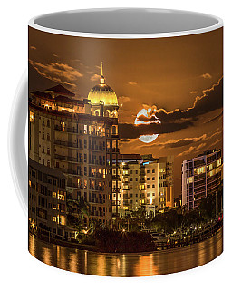 Moonrise Over Sarasota Coffee Mug