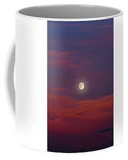 Coffee Mug featuring the photograph Moonrise, Sunset by Jason Coward