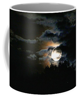 Moonset In The Clouds 2 Coffee Mug