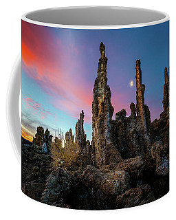 Moonset Over Mono Lake Coffee Mug