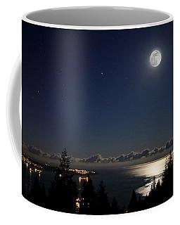Moonshine Over English Bay Coffee Mug