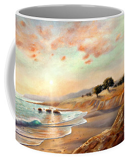 Moonstone Beach California Coffee Mug