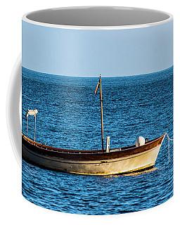 Moored Boat Coffee Mug