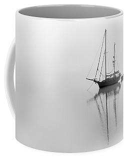 Moored On A Foggy Day Coffee Mug