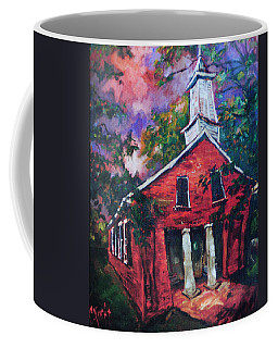 Mooresville Brick Church Coffee Mug by Carole Foret