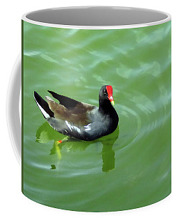 Moorhen Coffee Mug by Rosalie Scanlon