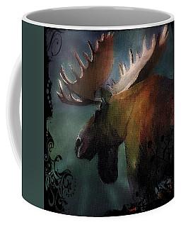 Moose Art Coffee Mug by Michele Carter