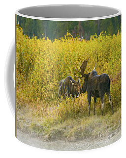 Moose Couple Coffee Mug