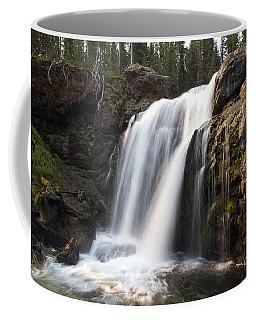 Moose Falls Yellowstone National Park Coffee Mug