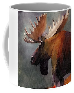 Think Big. Spend Time In The Woods. Moose Coffee Mug