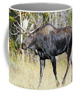 Moose On The Move Coffee Mug