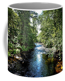 Coffee Mug featuring the photograph Moose River At Covewood by David Patterson