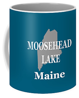 Coffee Mug featuring the photograph Moosehead Lake Maine State Pride  by Keith Webber Jr