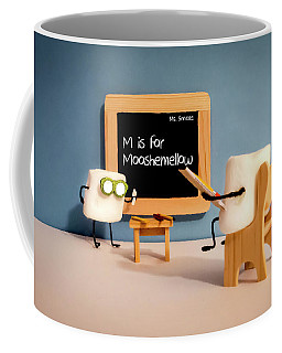 Coffee Mug featuring the photograph Mooshemellow by Heather Applegate