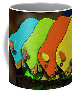 Coffee Mug featuring the photograph Mooving On by Paul Wear