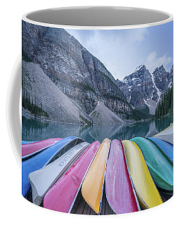 Moraine Lake Colors Coffee Mug