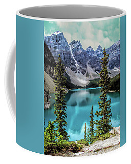 Moraine Lake Coffee Mug by Lynn Bolt