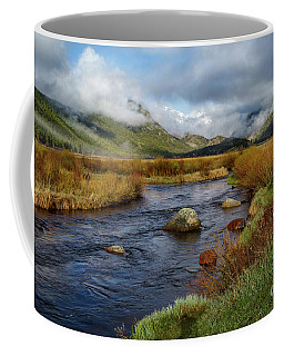 Moraine Park Morning - Rocky Mountain National Park, Colorado Coffee Mug